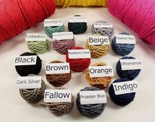 Hemp Twine String Rope Cord Craft Macrame Wrapping String | Shabby Chic 16 Color