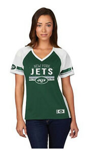 NFL New York JETS For Her Draft Me Short Sleeve Top~XL