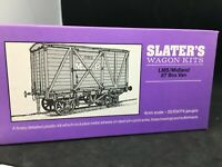Slater's model raiway kit OO LMS / MIDLAND 8 t box wagon 4mm n°4P030