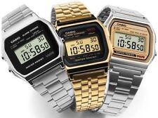 3pcs Casio Retro Classic A158W A159W Alarm Stopwatch Watch Unisex Illuminator