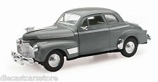 NEW RAY 1941 CHEVROLET SPECIAL DELUXE 5 PASSENGER COUPE GREY 1/32 CAR 55193