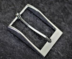 Replacement Buckle for Belt tofit Men Silver Brass Grey Metal Formal  38,40,41mm