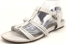 ECCO Women's White Leather Strappy Slingback Sandals Size EUR 41 US 10/10.5