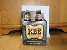 Founders KBS 2018 KENTUCKY BREAKFAST STOUT craft beer empty bottles 4 pack Rare