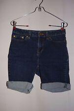 Women's LIZ CLAIBORNE Denim Blue Jean Shorts Size 2PR Jackie