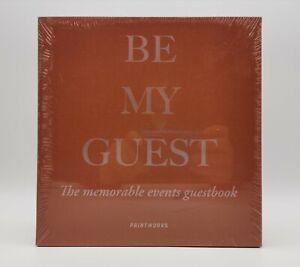 Be My Guest - Guestbook Gästebuch Restaurant Cafe Gastronomie Hochzeit Geburstag