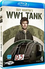 GUY MARTIN'S 'WWI Tank' (2017): World War 1 WW1 Tank Replica Build - NEW BLU-RAY