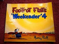 FOOTROT  FLATS COMIC  'WEEKENDER'   No. 4  BY MURRAY  BALL