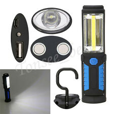 USB Torch Multi Light Bright LED Lamp Torch Magnetic Base Flashlight Tent Light