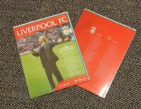 Liverpool v Manchester United OFFICIAL PROGRAMME GERRY MARSDEN 16/1/21 LAST FEW!