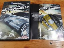 Nintendo GameCube need for speed most wanted pal france