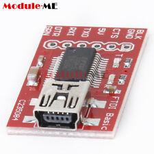 3.3V 5V FT232RL FTDI USB 2.0 to TTL Serial Adapte Module for Arduino Mini Port