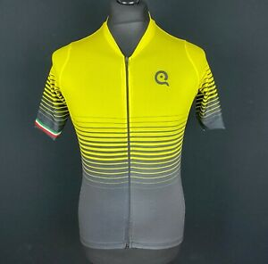Cycling Jersey Men's Size L Ultra Light Race Fit Full Zipper Bike Shirt