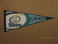 SEL CBL Pensacola Pelicans Vintage Defunct Circa 2003 Team Logo Baseball Pennant