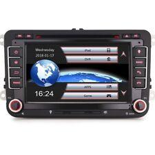 "7""Car Muldimedia CD Head Unit GPS DAB+ For VW Passat Scirocco Polo SKODA Octavia"