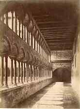 Italia, Verona, Chiostro Duomo Vintage albumen print,  Tirage albuminé