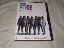 The Right Stuff (1983) DVD Scott Glenn Ed Harris Dennis Quaid Widescreen NASA