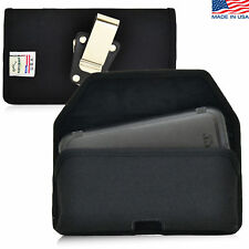 Turtleback HTC One M9 Nylon Pouch Holster Metal Belt Clip Fits Lifeproof Case
