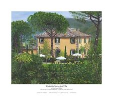 Under the Tuscan Sun Villa - Giclee, Artwork Reproduction, Print, Realism