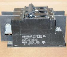 Heinemann Electric 3X0415 3P 15A Circuit  Breaker Bench Tested 60D Guarantee