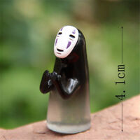 Studio Ghibli Spirited Away No Face Man Figure Blessing Figurine Garden Decor AA