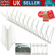 More details for 50cm steel wall bird fence spikes anti climb pigeon seagull repeller deterrent