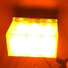 USA Police Code 3 Inc. 3 LED Light amber 12 Volt extrem hell Scene Light T51186
