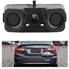 170° Car Reversing Camera Rearview Backup Parking Radar Night Vision 3-in-1 Kit