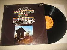 Famous Western Film Myrtille-Prague RADIO DANCE ORCHESTRA Vinyl Lp 1977