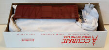 HO Scale Accurail 40' O.B.Wood Boxcar 'DATA ONLY' Mineral Red Item #4198