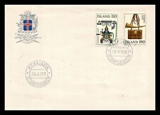 Iceland 1979 FDC, Europa CEPT XX. History Posts and Telecommunications. Lot # 3.