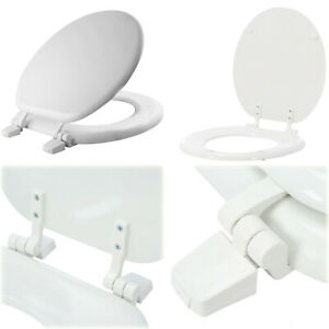 Vigour Clivia WC Seat Toilet Seat White Stainless Steel Hinges Thermoplastic