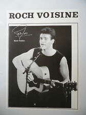 ROCH VOISINE poster dimension environ 64 x 88 cm