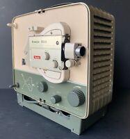 Vintage KODAK 8mm Brownie 500 Movie Projector Portable Case Original Box WORKS