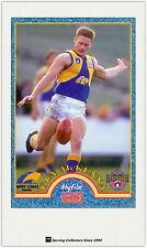 1996 Tip Top Hyfibe AFL Heroes Card #27 Guy McKenna (West Coast)