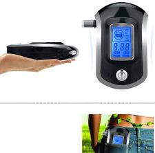 Portable Analyzer Police Digital Breath Alcohol Tester Breathalyzer Mouthpieces