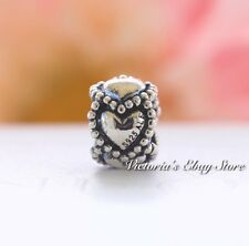 Authentic Pandora Sterling Silver Everlasting Love Sterling Silver Bead 790448