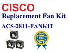 Cisco Router 2811 Fan Kit 3x New Fans, Satisfaction Guaranteed!