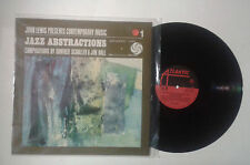John Lewis presents contemporary music jazz abstractions LP ATALNTIC NM/NM