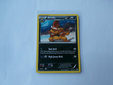 Carte Pokemon Baggaid 90 pv Noir et Blanc Rare !!!