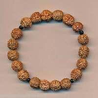 Armschmuck Bracciale Rudraksha Onyx Indien Nepal Bracelet Pulsera 135d