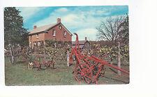 Amana Brick Home   Amana  Iowa  Unused Chrome Postcard 963