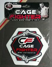 MMA AUTHENTIC CAGE FIGHTER CHAIN LINK  OCT WINDOW CLING NEW