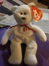 Ty Teenie Beanie Baby Baby Maple The Bear With Tag Oakbrook Retired