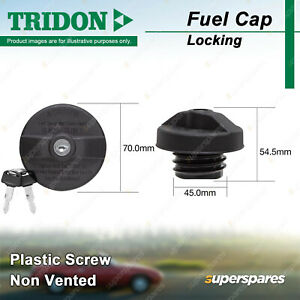 Tridon Locking Fuel Cap for Audi A3 A4 A6 A8 Allroad Quattro RS6 S3 S4 S6 S8 TT