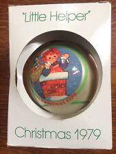 Schmid vintage 1979 Raggedy Ann Collectibles Christmas Ornament
