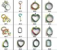 New Wholesale 1pc Floating Locket fit Living Glass locket Floating Charms