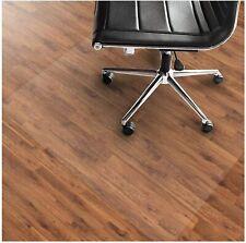 Office PVC Chair Mat for Hard Floors 40 x 48 Rectangular Non-Curve Anti-Slip