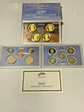 2010-S US Mint PROOF Set 14 Piece w/ ATB State Quarters & Presidential $1 Coins