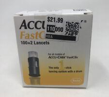 Accu-Chek FastClix Diabetes Testing Lancets - 102 Pieces